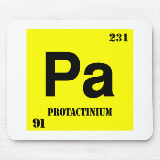 Protactinium Mouse Pads