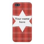 protagonice a los escoceses del tartán de la tela  iPhone 5 cárcasas