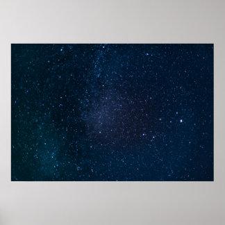 Protagoniza el cielo nocturno póster