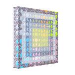 Protagoniza formas de n: Decoraciones gráficas Lona Envuelta Para Galerías