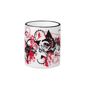 protagoniza la composición del grunge taza de dos colores