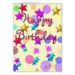 Protagoniza la tarjeta de cumpleaños