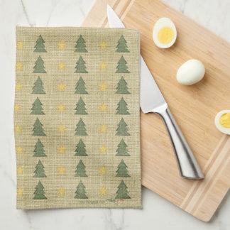 Protagoniza la toalla de cocina de los árboles del