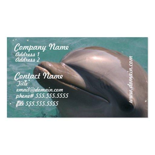 Protagonizar tarjetas de una visita del delfín tarjeta de visita