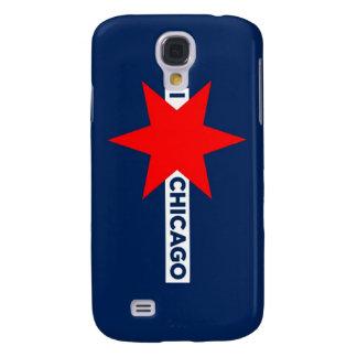 Protagonizo el caso vivo de Chicago HTC (azul) Funda Para Galaxy S4