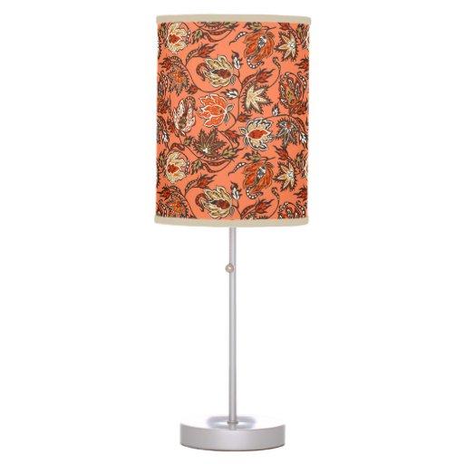 Protea Batik Hawaiian Tropical Floral Table Lamp Zazzle
