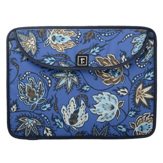 Protea Batik Tropical MacBook Flapped Case