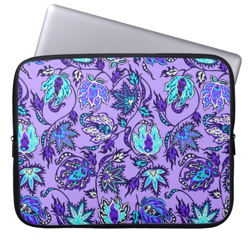Protea Batik Tropical Neoprene Wetsuit Laptop Computer Sleeve