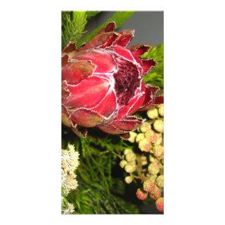 Protea Bouquet Photo Card