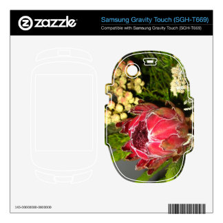 Protea Bouquet Samsung Gravity Touch Skin