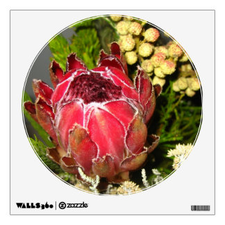 Protea Bouquet Wall Decal