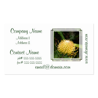 Protea Business Cards