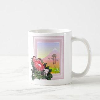 Protea Coffee Mugs