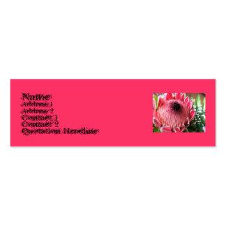 Protea Profile Card Business Cards