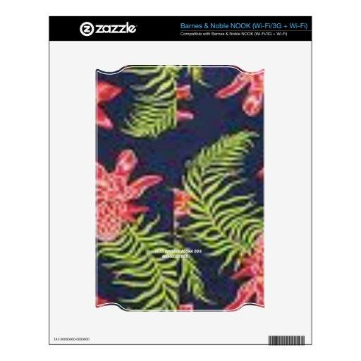 Protea (Vintage Aloha Print) NOOK Decal
