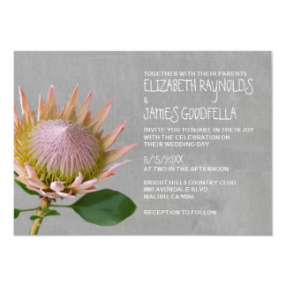 Protea Wedding Invitations
