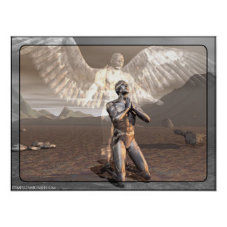 Protección angelical posters