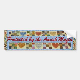 ¡Protección de la mafia de Amish, pegatina para el Pegatina Para Auto