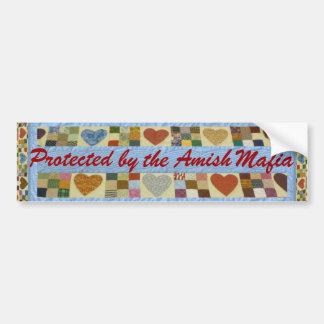 ¡Protección de la mafia de Amish! ¡Pegatina para Pegatina Para Auto