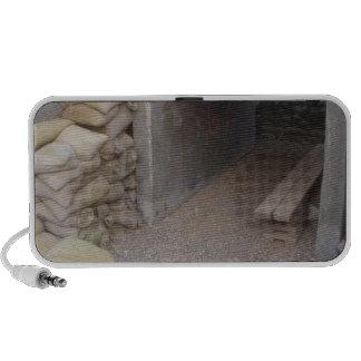 Protección de las bolsas de arena del banquero laptop altavoz