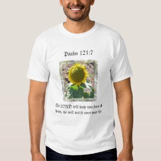 Protección del 121:7 del picosegundo del girasol remeras