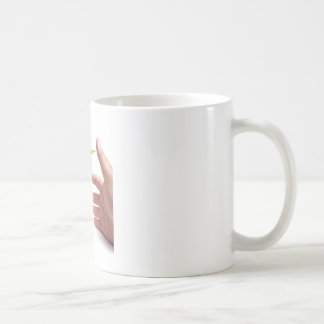 Protección del medio ambiente taza de café