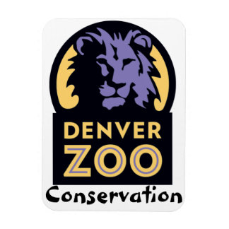 Protección del parque zoológico de Denver Imán Rectangular