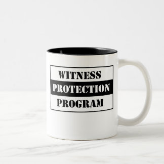 Protección del testigo taza de dos tonos