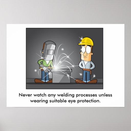 Protección ocular 002 póster
