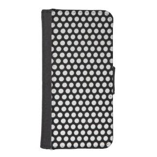 Protección perforada billetera para teléfono