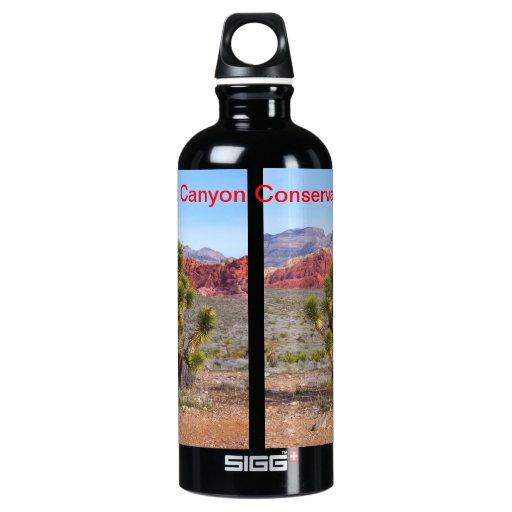 Protección roja Nevada del barranco de la roca