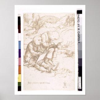 Protección tremenda contra jejenes 1853 pluma y poster