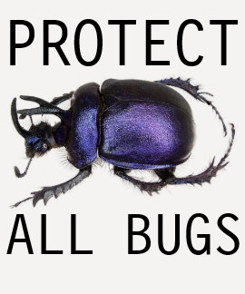 protect all bugs t-shirt