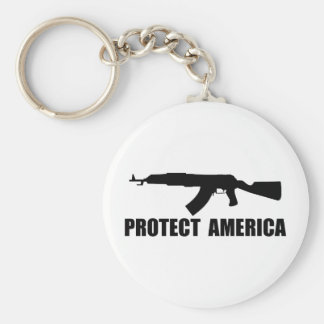 Protect America Keychain