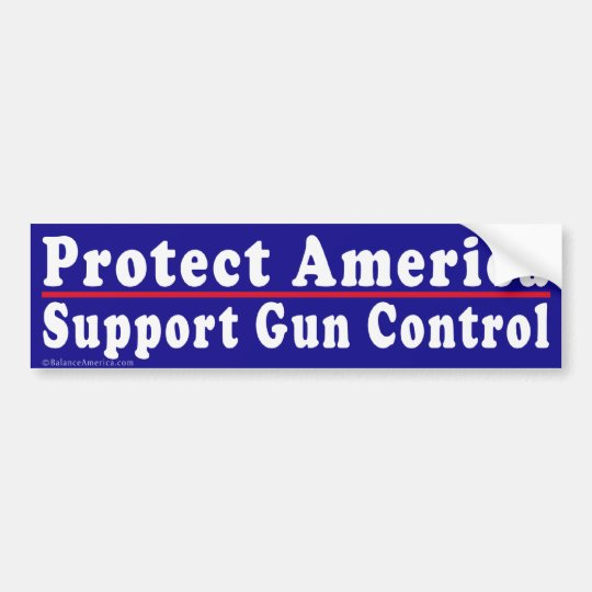 Bumper Stickers For Gun Control