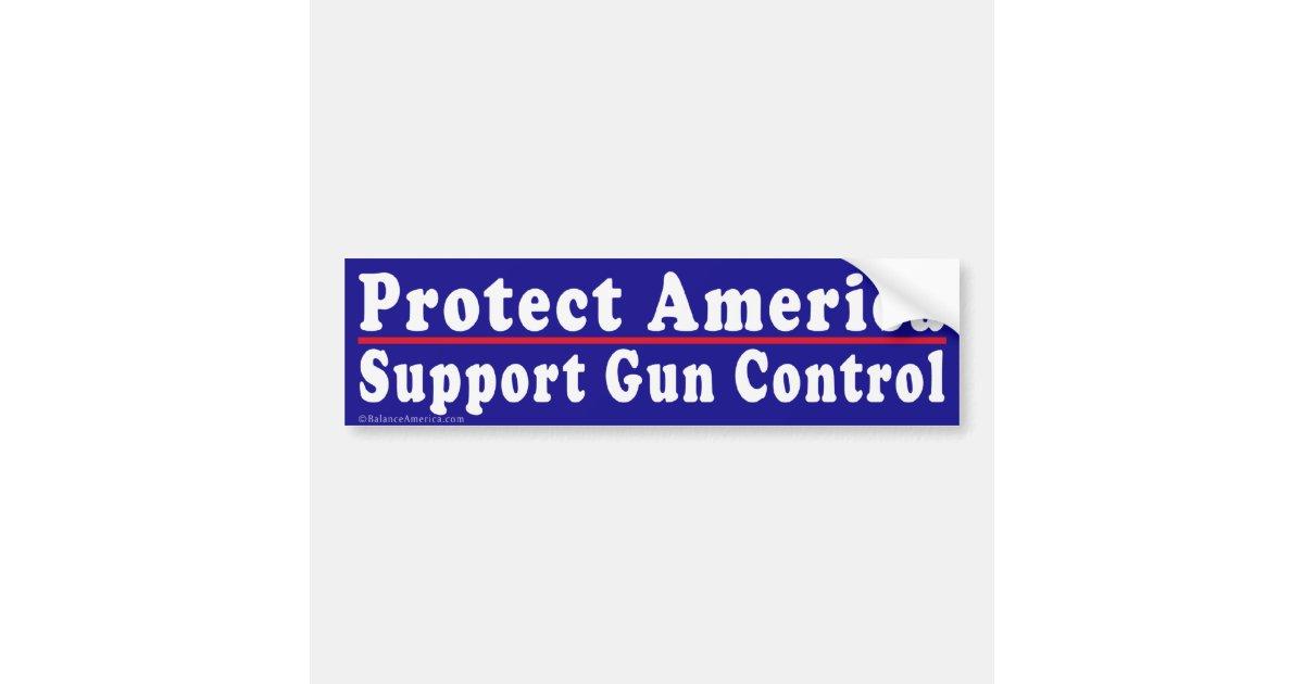 Gun Control Sticker 103 | Gun Control Bumper Stickers ... |Gun Bumper Stickers