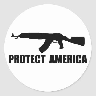 Protect American Sticker