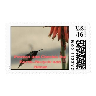 Protect and Cherish the Earth Stamp