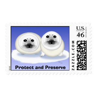 Protect and Preserve Seal Pup Stamp
