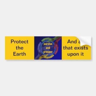 Protect and Prosper Bumper Sticker