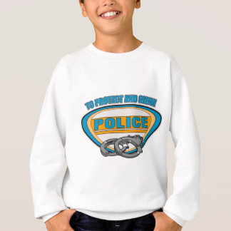 Protect and Serve Handcuffs Sweatshirt