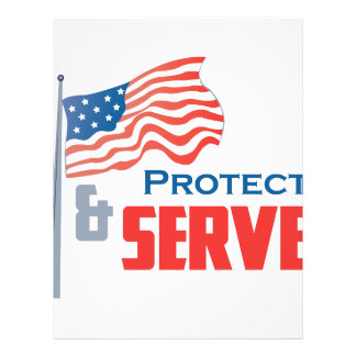 Protect and Serve Letterhead