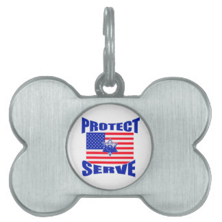 Protect And Serve Pet Tag