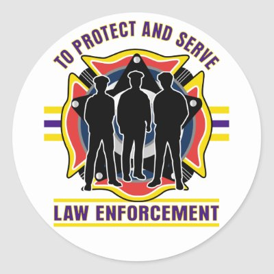 Insurrection Protect_and_serve_police_sticker-p217296315766099918qjcl_400