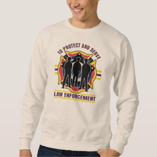 Protect and Serve Police Sweatshirt