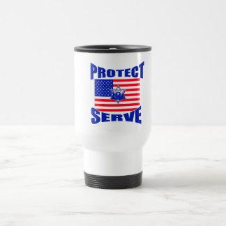 Protect And Serve Travel Mug