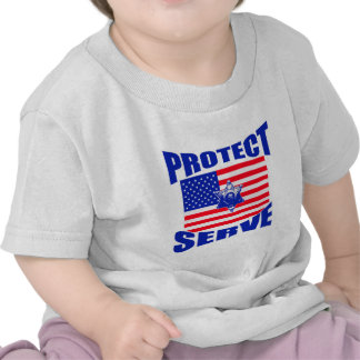 Protect And Serve Tshirt
