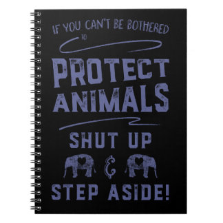 Protect Animals 2 Notebook