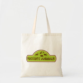 Protect animals canvas bags
