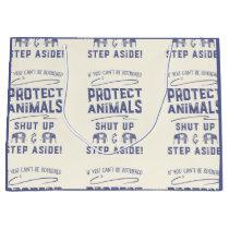 Protect Animals Large Gift Bag